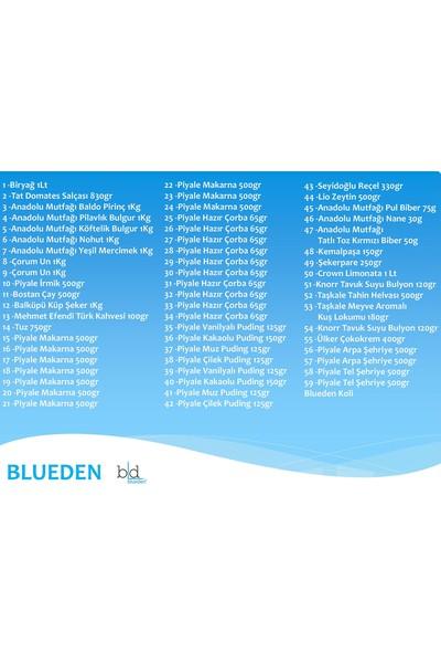 Blueden Kumanya Ramazan Gıda Paketi 59 Parça 118 Nolu Paket