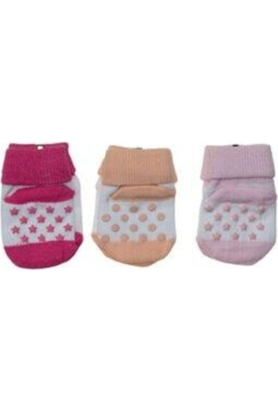 Üçler Bebek 3'lü Çorap Seti