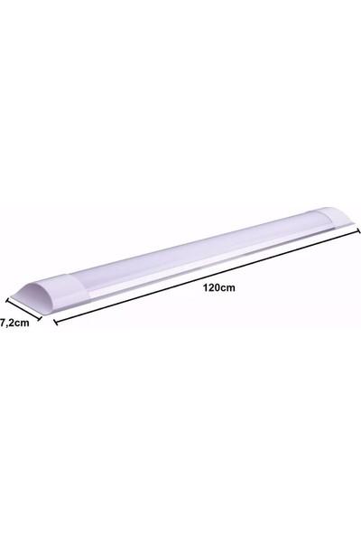 Erg 40 Watt LED Bant Armatür 6 Adet Beyaz Işık