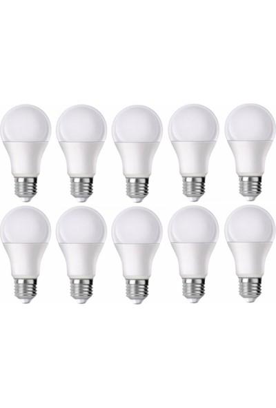 Erg 9 Watt LED Ampül 12 Adet Günışığı
