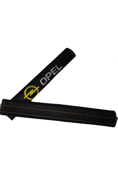 Kayaç Opel Lüx Siyah Deri Emniyet Kemer Kılıfı 2 Adet Gönderilecek