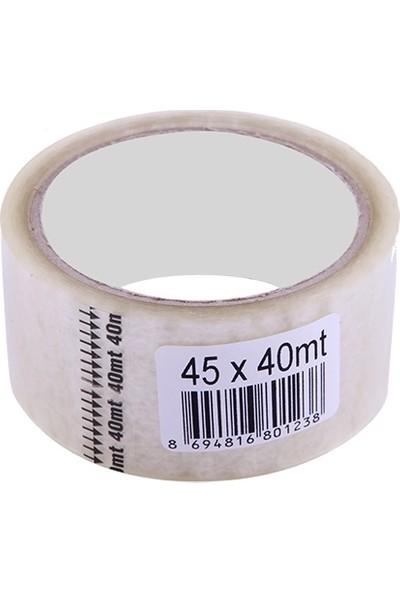 Omak Koli Bandı 45 mm x 40 m Şeffaf 50'li
