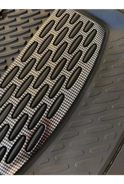 Yekoto Nissan Juke (10-16) Extra Derin Havuzlu 3D Karbon Paspas