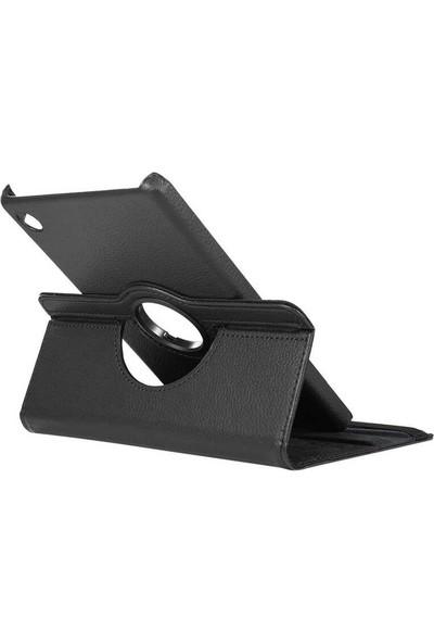 CoverZone iPad Air 4. Nesil 10.9 Inch Rotating Dönebilen Standlı Kılıf Siyah