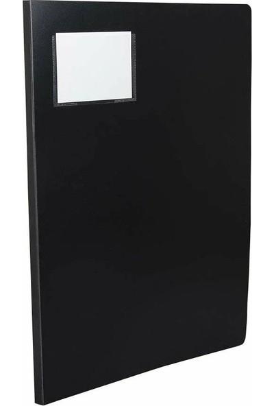 Önder Katalog Sunum Dosyası Pp A3 20'li Siyah