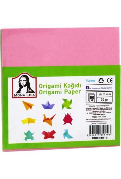 Mona Lisa Monalisa Origami Kağıdı 11.9 x 11.9 cm MN10-2