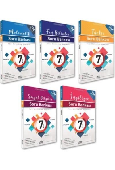 Rty Rota Yayınları 7. Sınıf Soru Bankası Seti 5 Kitap