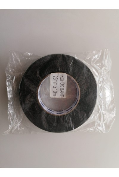 Beşel Besel Köpük Çift Taraflı Bant 25 mm x 10MM Siyah