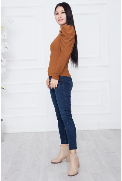 Bayan Omuz Büzgülü FWM01 Bluz