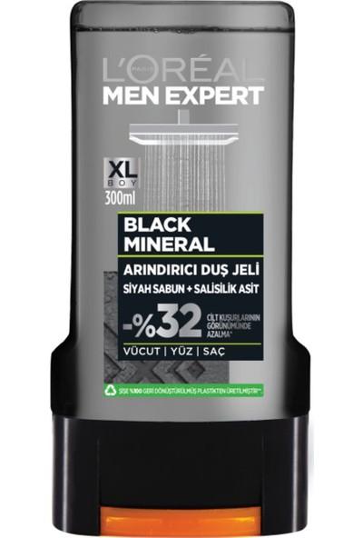 L'oréal Paris Men Expert Black Mineral Siyah Sabun + Salisilik Asit Duş Jeli 300 ml