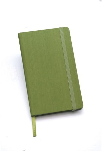 Fabio Ricci Lepidus Kareli Defter 9 x 14 cm Yeşil