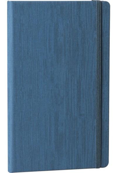 Fabio Ricci Lepidus Çizgili Defter 13 x 21 cm Havacı Mavisi