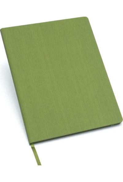 Fabio Ricci Lepidus Çizgili Defter 19 x 25 cm Yeşil