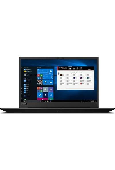 "Lenovo ThinkPad P1 Gen3 Intel Core i9 10885H 16GB 1TB + 1TB SSD T2000 Windows 10 15.6"" UHD Taşınabilir Bilgisayar 20TH0018TXZ5"