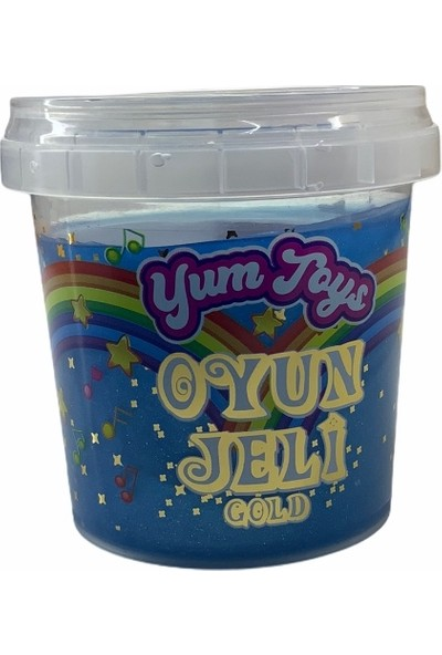 Yum Toys - Oyun Jeli Gold - Slime - 135 gr - Lacivert