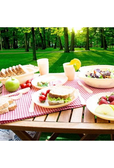 Omak Piknik Seti-32 Parça Çatal+Bıçak+Kaşıklı