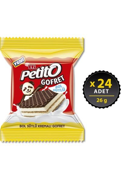 Eti Petito Gofret 26 g x 24 Adet
