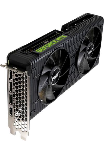 Palit Geforce RTX3060 Dual 12GB 192BIT Gddr6 (DX12) Pcı-E 4.0 Ekran Kartı (NE63060019K9-190AD)