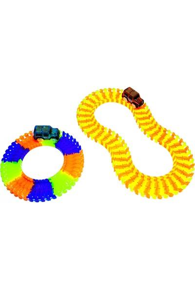 Kayyum Oyuncak Oyuncak Magic Tracks Hareketli Raylar 384 Parça 2 Araba