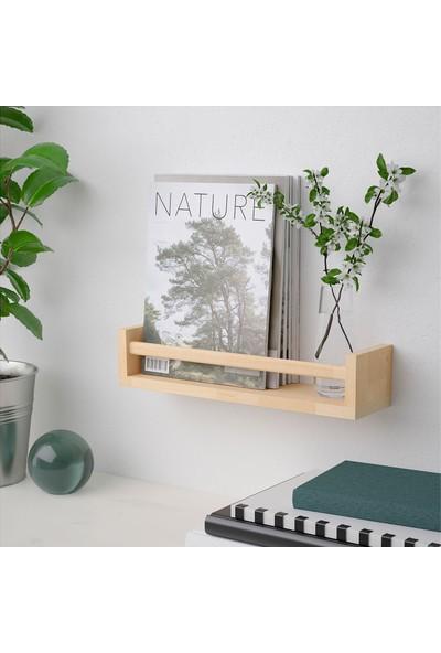Ikea Bekvam Huş Ağacı Baharat Rafı 40X10X9 Cm