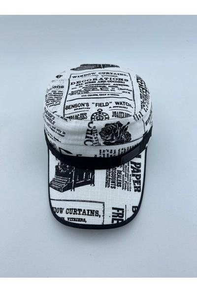 mercantoptan Yazlık Gri Erkek Şapka Spor London Kasket