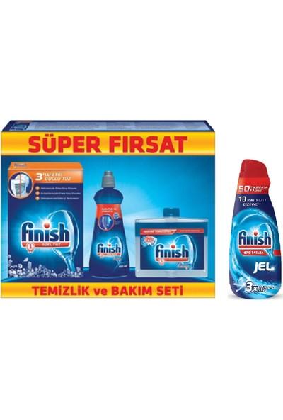 Fınısh Tuz 550 Gr+Makıne Temızleyıcı+Parlatıcı 400 Gr+Fınısh Jel 1000 ml
