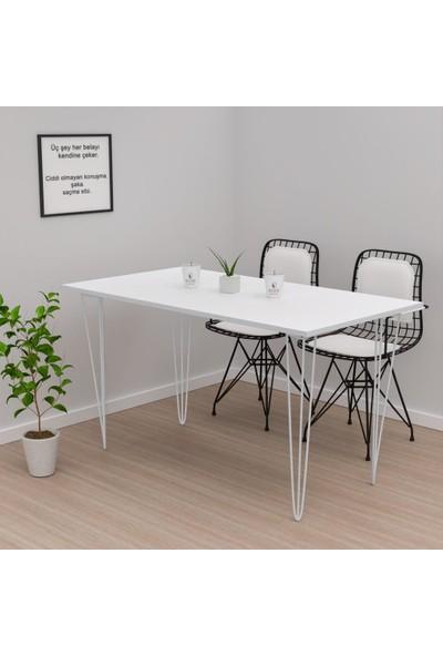 Kenzlife Knsz Yemek Masası Hemdem Byzbyz 075*120*050 Mutfak Ofis Çalışma
