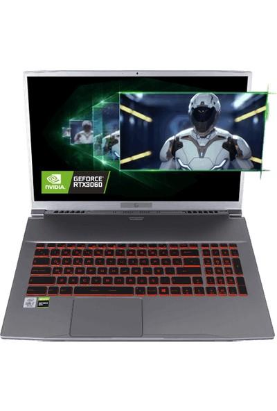"Game Garaj Tracer XL 7TN-02 Intel Core I7 10750H 16GB 512GB SSD RTX3060 Freedos 17.3"" FHD Taşınabilir Bilgisayar"