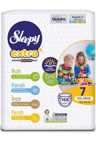 Sleepy Extra Günlük Aktivite Bezi 7 Numara Xxlarge 168'LI