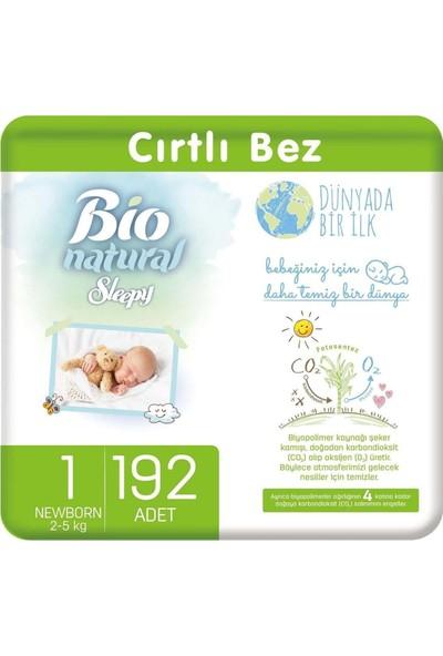 Sleepy Bio Natural Bebek Bezi 1 Numara Yenidoğan 192'li