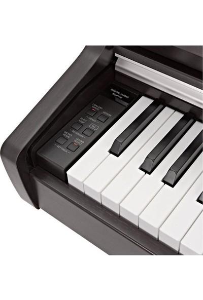 Kawaı KDP110R Gülağacı Dijital Duvar Piyanosu + Tabure - Kulaklık