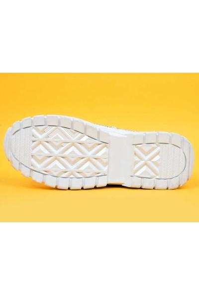 Mugo Kadın Günlük Taşlı Ayakkabı 69-21Y