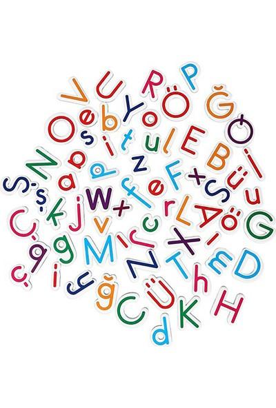 Hobialem Diytoy, Manyetik Alfabe, 66 Parça, Magnet Harfler,mıknatıslı Harf Figürleri