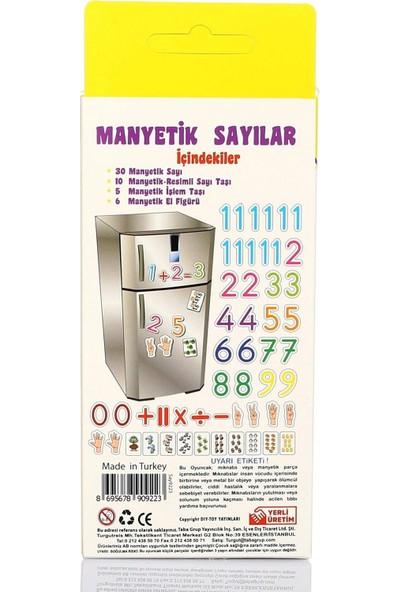 Hobialem Diytoy, Manyetik Sayılar, 34 Parça, Magnet Rakamlar, Mıknatıslı Rakam Figürleri