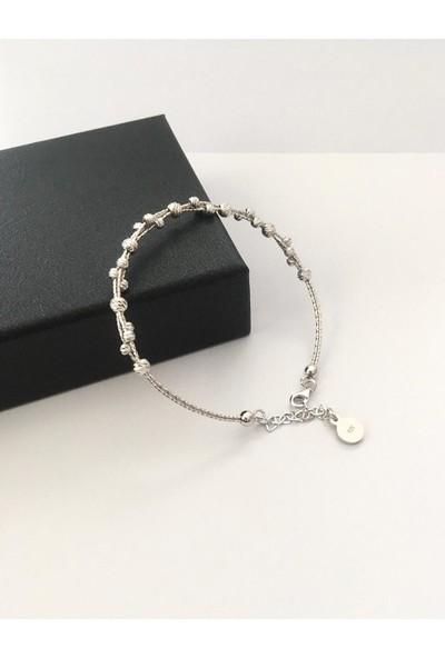 TMT Gümüş Sarmal Dorika Dorissa Toplu Bileklik Bilezik