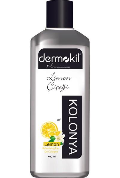 Dermokil Limon Çiçeği Kolonyası 400 ml Kutulu