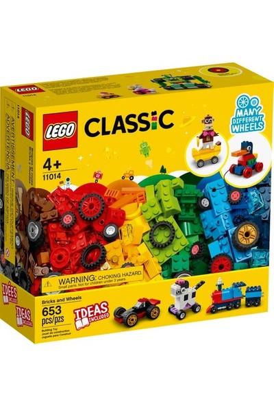 LEGO ® Classic Yapım Parçaları ve Tekerlekler 11014 (653 Parça)