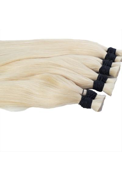 AYTUĞ PERUK %100 Doğal Insan Saçı / Naturel Renk / Ham Saç / 100 Gr.