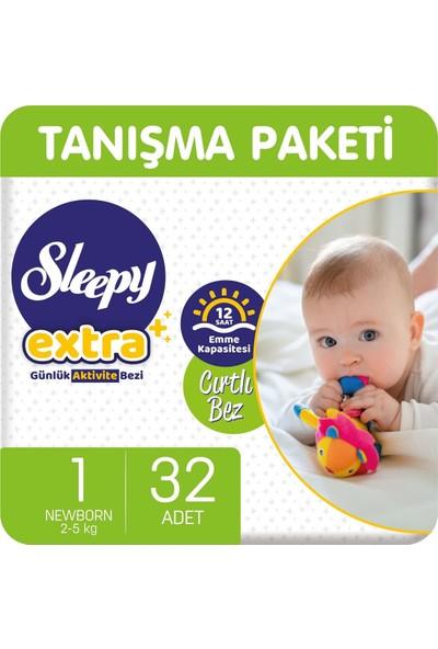 Sleepy Extra Günlük Aktivite Bezi 1 Numara Yenidoğan 32 'li