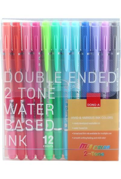 Dong-A My Color 2 Duo Çift Renk 12'li