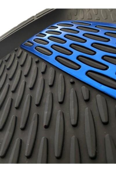 Yekoto Nissan Juke (10-16) Extra Derin Havuzlu 3D Mavi Paspas