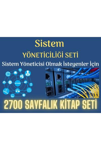 Enine Boyuna Eğitim Sistem Yöneticiliği Eğitim Seti (2700 Sayfalık Kitap Seti)