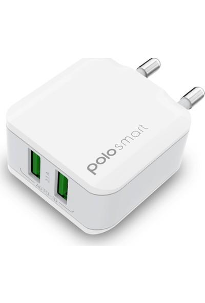 Polosmart PSM15 2 USB'li Duvar Şarjı
