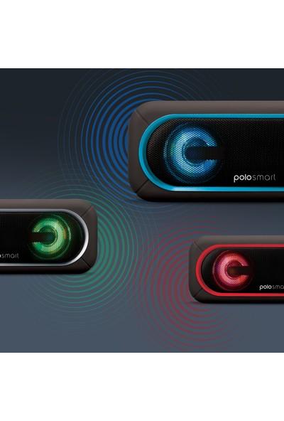 Polosmart FS37 LED Işıklı Kablosuz Hoparlör