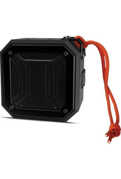 Polosmart FS38 Suya Toza Darbeye Dayanıklı Kablosuz Hoparlör Speaker Siyah