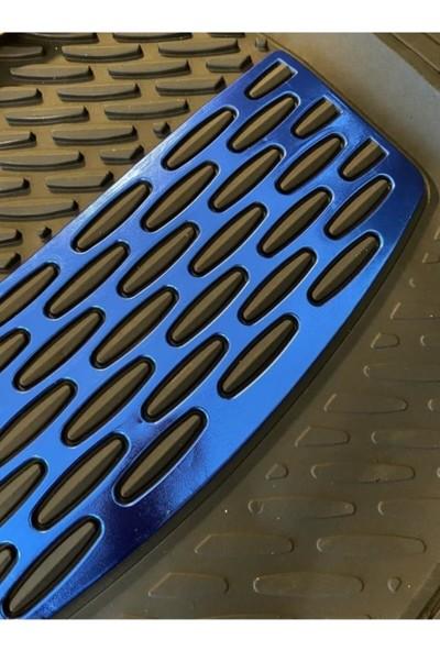 Yekoto Fiat Fiorino (08-17) Extra Derin Havuzlu 3D Mavi Paspas
