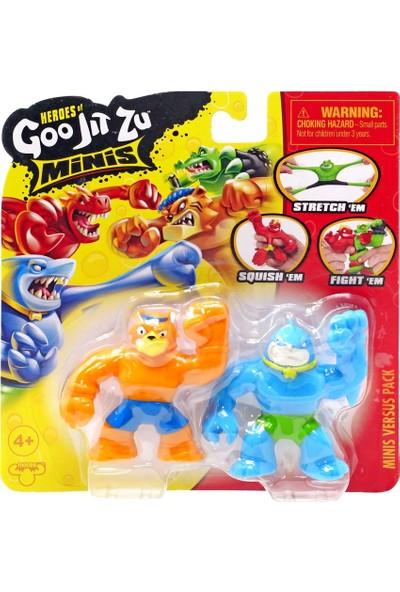 Goojitzu Minis Thrash-Tygor S1-41122 2'li