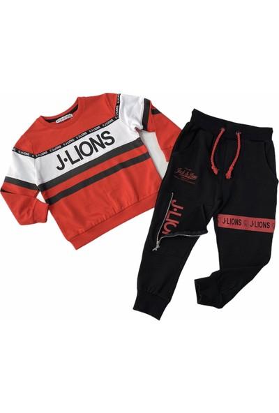 Jack Lions Erkek Çocuk Bacağı Fermuar Detaylı Eşofman Takım