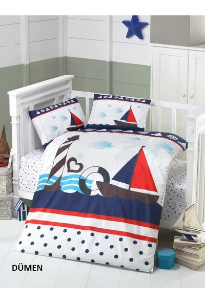 Komfort Home Bebek Uyku Seti %100 Pamuk (Yorgan ve + 2 Yastıklı)