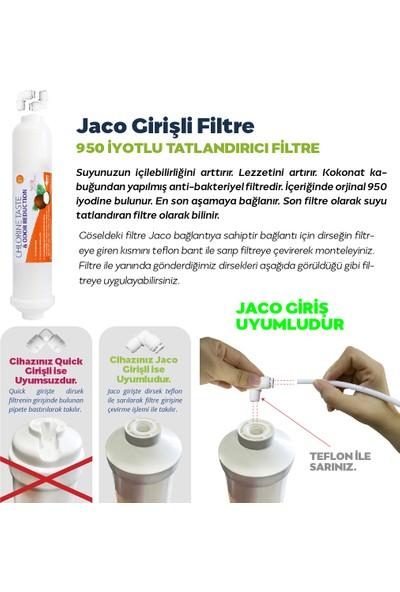 Hanedan Kapalı Kasa Su Arıtma 7li 12 Aşamalı Filtre Seti Lg Membranlı (Jaco Bağlantı)